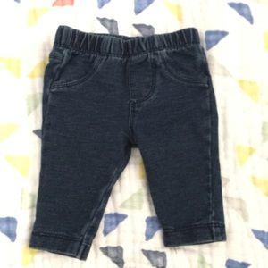 newborn denim jeans NB SIZE skinny jean pants